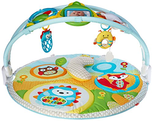 Skip Hop Baby Infant and Toddler Explore & More Amazon Arch Activity Gym, Multi Explore & More