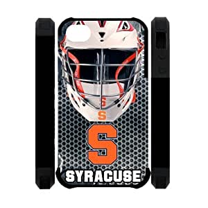 Active NCAA Syracuse Orange Apple Iphone 4S/4 Case Cover Dual Protective Polymer Cases Steel Helmet HD Picture