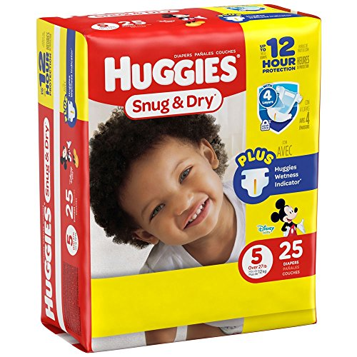 Huggies Baby Diapers Snug Size