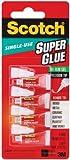 Scotch Single Use Super Glue Gel (AD119)