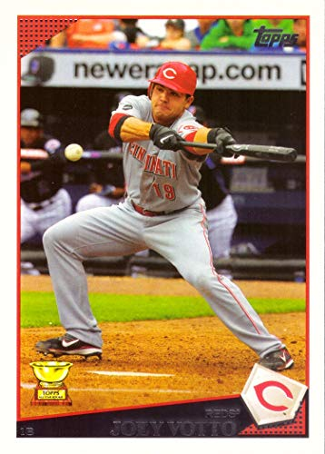 2009 All Star Baseball - 2009 Topps #390 Joey Votto Baseball Card - Topps All-Star Rookie