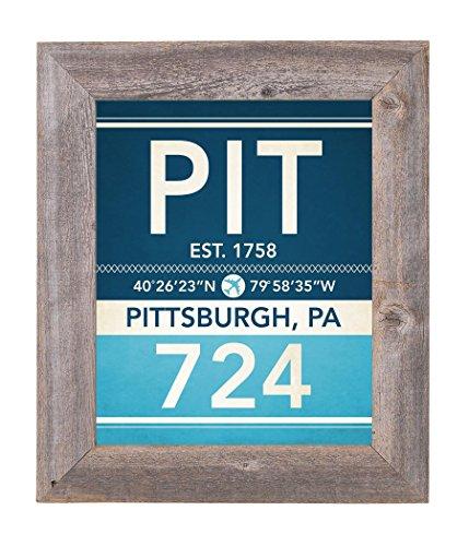 Amazon.com: Pittsburgh Pennsylvania Vintage Airport Area Code Map ...