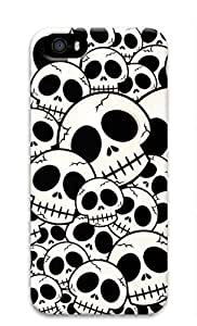 3D Hard Plastic Case Cover for iPhone 6 4.7 6 4.7 ,Skull Pattern Case for iPhone 6 4.7 6 4.7