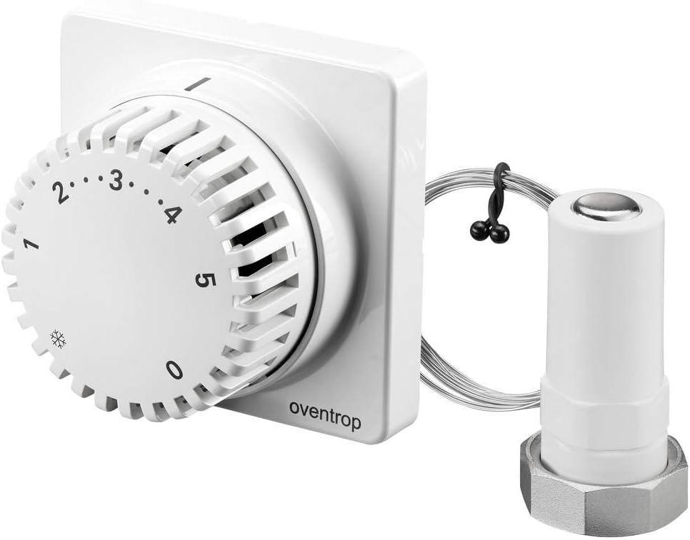 Oventrop Uni FH 1012295 Thermostat r/églable /à distance avec syst/ème capillaire Blanc 2000 mm