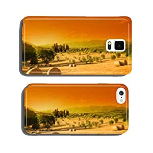 Tuscany landscape, summer cell phone cover case Samsung S6