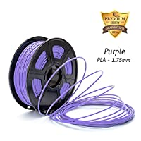 DAZZLE LIGHT 3D Printer PLA Filament 1.75mm Dimensional Accuracy +/- 0.02 mm 2.2 LBS (1KG) Spool