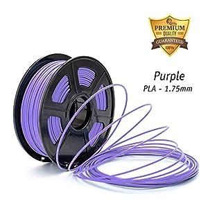 DAZZLE LIGHT 3D Printer PLA Filament 1.75mm Dimensional Accuracy +/- 0.02 mm 2.2 LBS (1KG) Spool