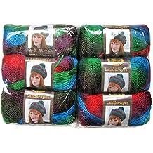 Lion Brand Yarn Landscapes Yarn (6-Pack) (Apple Orchard 545-205)
