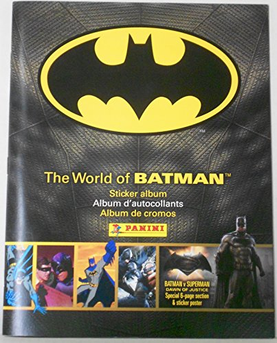 The World of Batman Sticker Album