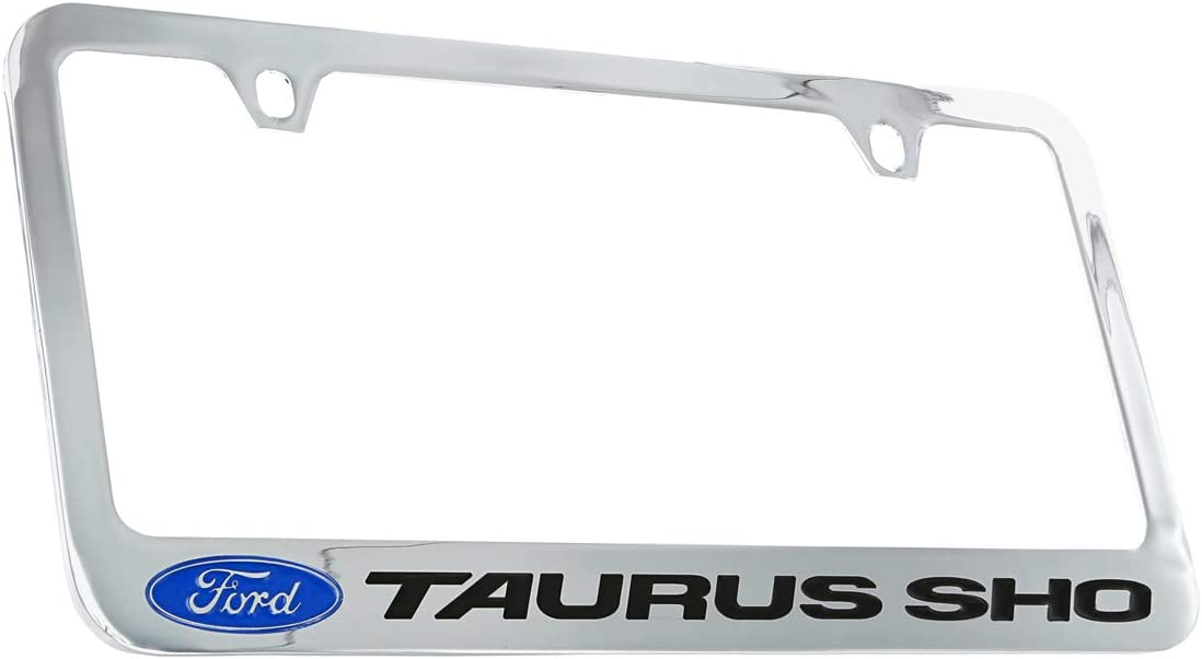 Ford Taurus SHO Chrome Plated mart Plate Frame Metal Ranking TOP19 Holder License