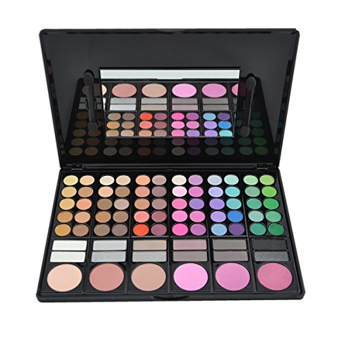 KRABICE Eyeshadow Palette,Bold and Bright Collection, Vivid,Eyeshadow Eye Shadow Palette Makeup Kit Set(78 Eyeshadow Palette) - Pattern 2