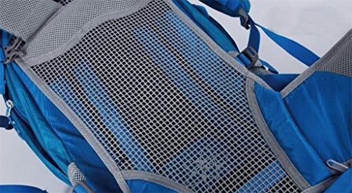 al aire libre del alpinismo mochila profesional bolsa de viaje de gran capacidad 42L que va de excursión bolsa de hombres y mujeres del hombro la mochila ( Color : Marrón , Tamaño : 36-55L ) Marrón