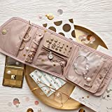 BAGSMART Travel Jewelry Organizer Case Foldable