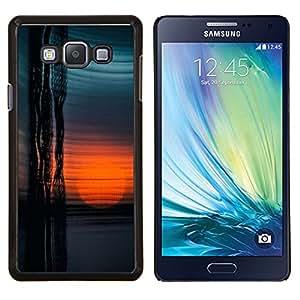 Stuss Case / Funda Carcasa protectora - Sun Edificio Resumen Reflexión - Samsung Galaxy A7 ( A7000 )