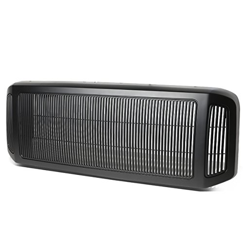 For Ford F250 F350 F450 F550 Super Duty ABS Billet Style Bumper Grille/Grill (Matte Black)