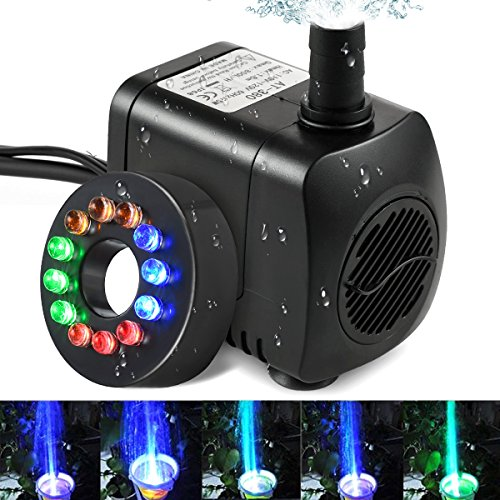 Fountain Pump Led Light