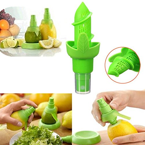 [1Pc Silicone+Plastic Lemon Orange Juice Juicer Spray Sprayer Home Kitchen Fruit Vegetable Tools Gadgets Kitchenware Houseware (Copter] (Beetle Juice Wig)
