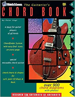 The Guitarist\'s Chord Book - Over 900 Guitar Chords: Peter Vogl ...