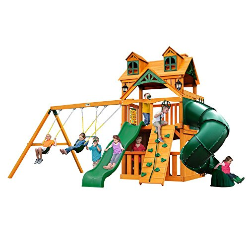 Malibu Extreme Clubhouse Swing Set - Malibu Solar Post