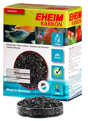 Eheim Activated Carbon - Eheim EHFIKARBON, activated carbon with Netbag 1L