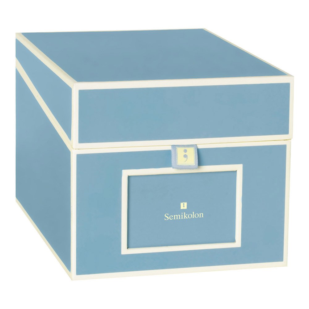 Semikolon CD/DVD/Photo Storage Box, Ciel Sky Blue (31809)