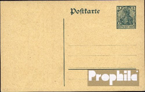 German Empire P90I Official Postcard 1910 Germania (documents philatelic covers for (1910 Postcard)