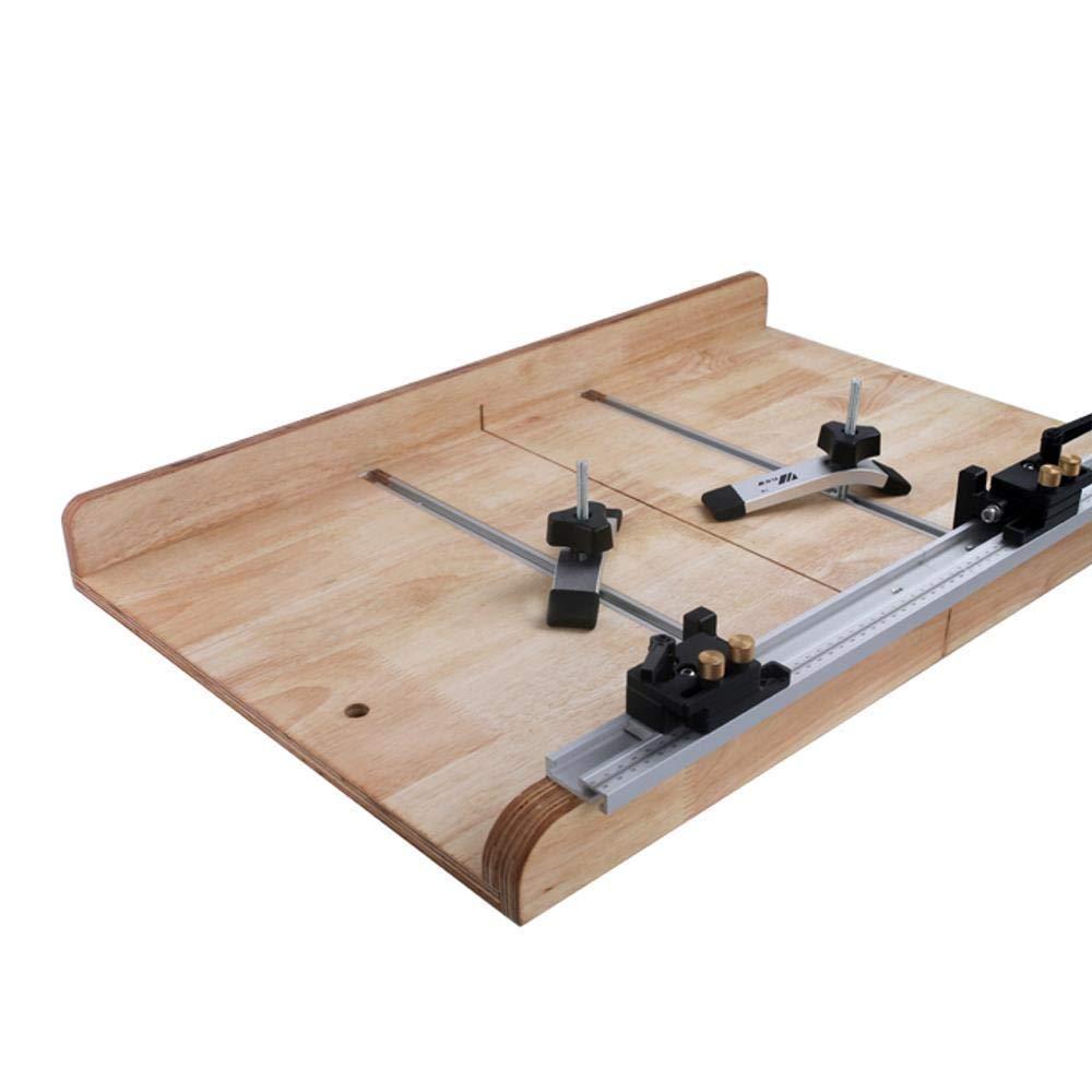 1220 mm aluminio T-Track ranura de tornillo de inglete en T ranura de fijaci/ón para sierra de mesa herramienta de carpinter/ía 300