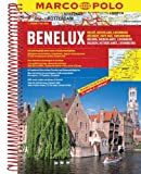 Benelux/Belgium/Netherlands/Luxembourg Marco Polo Road Atlas