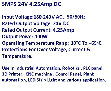 Eautomation Shop Smps 24V 4.25A Dc Switch Mode Power Supply Lubi ...