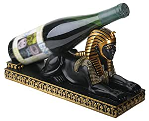 Egyptian Sphinx Wine Bottle Holder Collectible