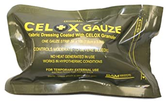 """Celox V12090 - GR Gauze Roll, 10' L x 3"""" W"""