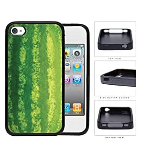 Watermelon Green Skin Rubber Silicone TPU Cell Phone Case Apple iPhone 4 4s