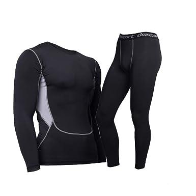 Termica Uomo abbigliamento sportivo in Nero, compara i