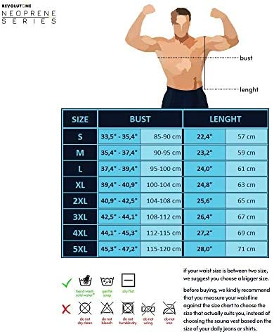 Waist Trainer for Men Vest Corset Combined with Abs Stimulator Helps to Healthy Weight Loss and Belly Fat Burning on Fitness Workouts or Daily Life and Slimming Tank Top Allows That BMI Goals 7
