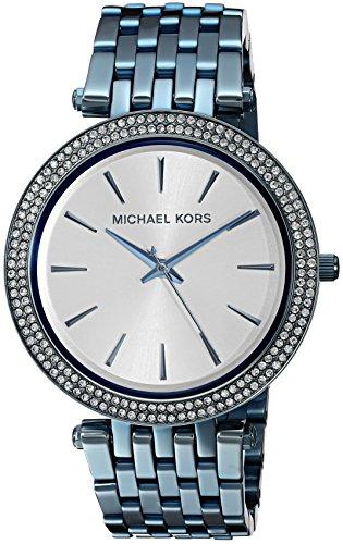 Michael Kors Women's Quartz Stainless Steel Casual Watch, Color:Blue (Model: MK3675)
