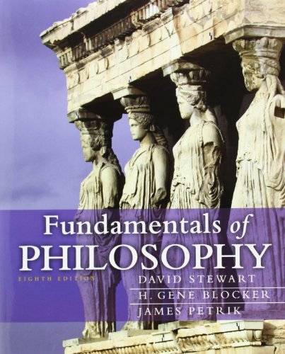 Fundamentals of Philosophy (8th Edition) (Mythinkinglab)