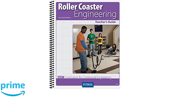 Amazon.com: Pitsco Roller Coaster Engineering Teacher's Guide ...