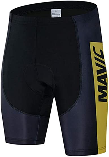 Naven Quick-Dry /& Breathable Cycling Shorts Men Gel Padded,MTB Cycling Clothing,Bicycle Riding Pants