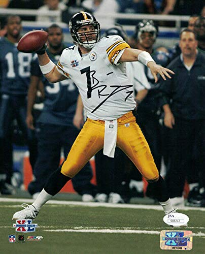 - BEN ROETHLISBERGER AUTOGRAPHED/SIGNED PITTSBURGH STEELERS 8X10 PHOTO JSA