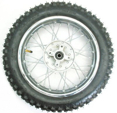 Motorcycle Rear Wheel Assembly - 6