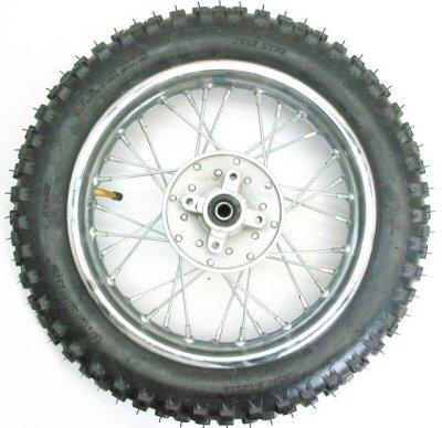 """12"""" Dirt Bike Rear Wheel Assembly"""