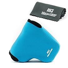 Megagear MG447 Ultra Light Neoprene Camera Case Bag for Panasonic LUMIX DMC-FZ1000 Digital Camera (Blue )