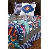 Rizzy Home Surfs Up 4-Piece Kids Comforter Set, Full/Queen