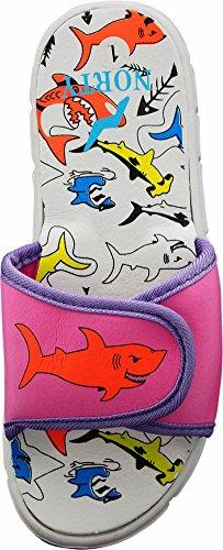 Pictures of NORTY - Toddler Girl's Shark Slide Adjustable 2