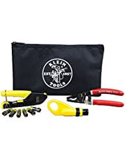 KLEIN TOOLS Coax Cable Installation Kit with Zipper Pouch, VDV026-211