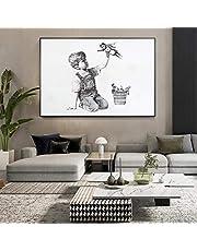 Game Changer Nurse Tribute Canvas Banksy Painting Affischer och tryck Wall Art Bilder för vardagsrum Sovrumsdekor 70x100cm Ramlös