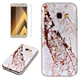 for Samsung Galaxy A5 2017 Marble Case with Screen