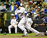 "Jonathan Lucroy Milwaukee Brewers 2016 MLB Action Photo (Size: 16"" x 20"")"