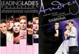 Audrey Hepburn Sabrina + Leading ladies Collection DVD Set / Up the down staircase / Shoot the moon / I'll Cry Tomorrow / A Big Hand for the Little Lady / Rich & Famous