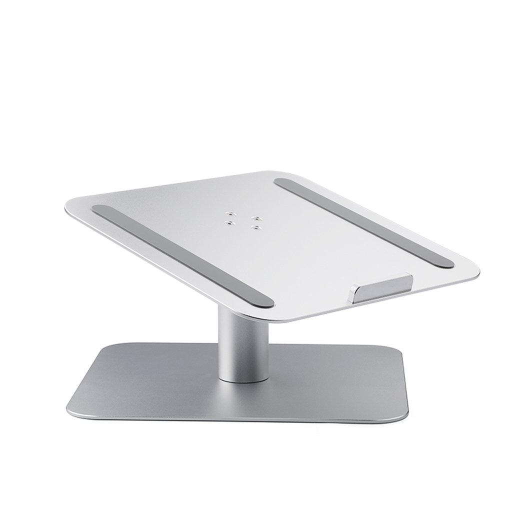 XY Soap dish Rotary Notebook Laptop Creative Stand Holder, Apple Radiator Base Desktop Aluminum Notebook Desktop, Aluminum Notebook Base Creative Holder, 26cm16cm9.3cm by XY Soap dish (Image #1)